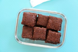 Brownies to go