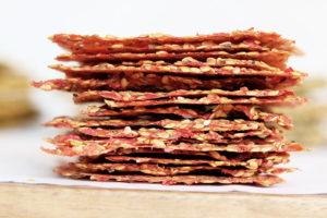 Tomaten-Paprika-Cracker