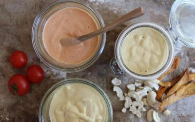 Cashew-Salatdressing-Variationen