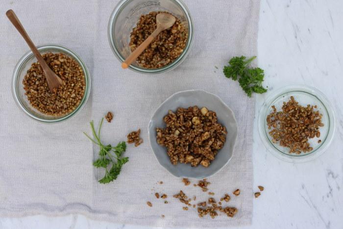 Buchweizen – Crunchy pikant und süß-scharf