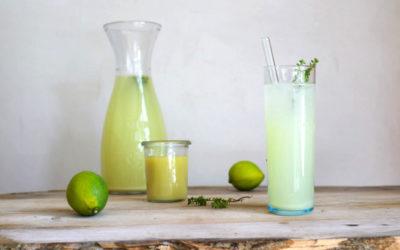 Sommer-Ingwer-Limonade