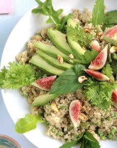 Quinoasalat mit Feigen