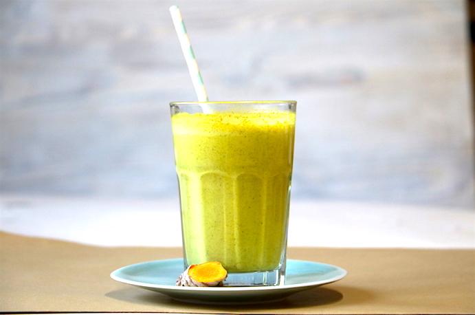 goldene Milch roh vegan