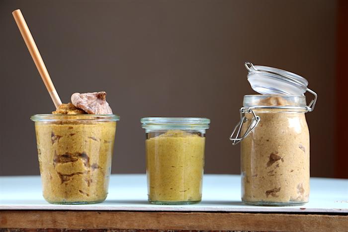 Honig-, Feigen- und Apfel-Senf selber machen