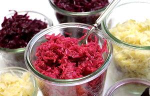 rotes Sauerkraut selber machen