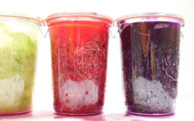 Dreierlei Sauerkraut selbst gemacht (mit Video)