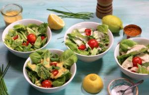 cremige Salatdressings