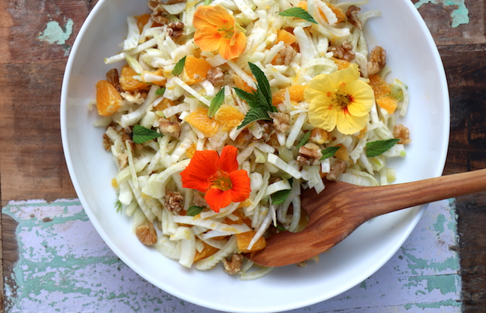 Fenchelsalat mit Orange