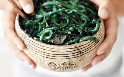 Chlorophyll – Gurkenspaghetti von Minh