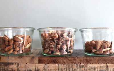Getrocknete Mandeln – in 3 Variationen