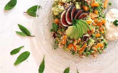 Rohköstliches Quinoa-Couscous