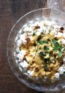 Blumenkohlsalat indisch