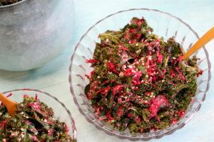 Grünkohl und Rote Bete Salat