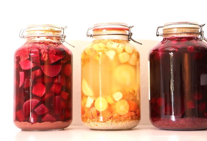 fermentierte Säfte