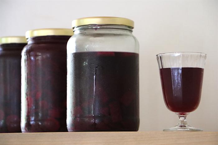 fermentierte Rote Bete Säfte