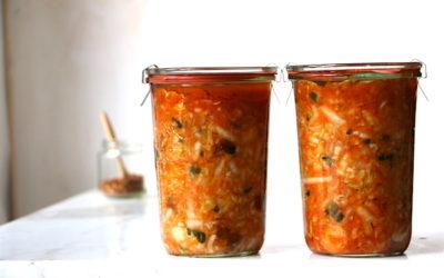 Einfaches Kimchi