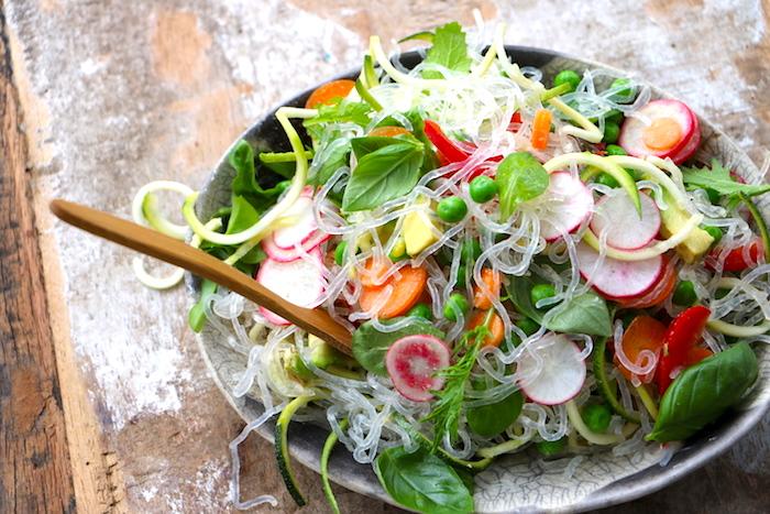 Kelp Nudeln mit Zucchini