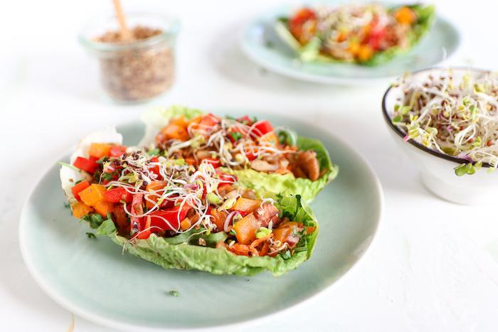 roh vegane Tacos