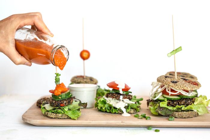 Veggie Burger vegan