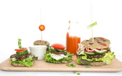 Roh vegane Burger