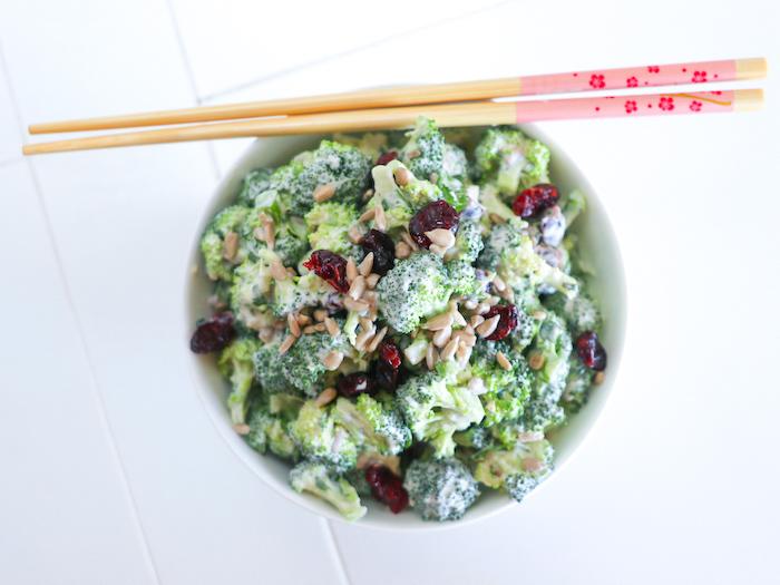 Rohkost Brokkolisalat