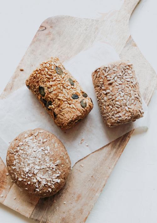 Buchweizen-Mandel-Brote